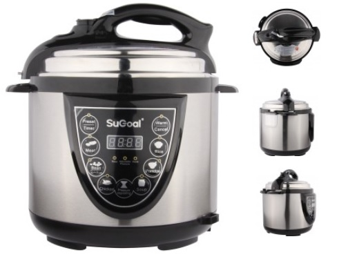 Stainless Steel Automatic Electric Pressure Cooker